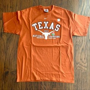 Nike University of Texas '05 Nat'l Champs Sz L